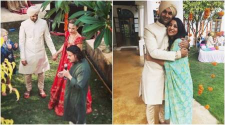 Purab Kohli and Lucy Paton take wedding vows in Goa