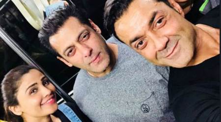 Salman Khan heads to Bangkok for Race 3; See photos