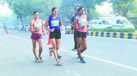 Soumya, Soumya news, Soumya updates, National Race Walking Championship, Irfan, Irfan news, Irfan updates, sports news, Indian Express