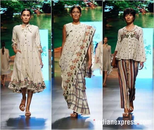 lakme fashion week, lfw 2018, karan johar, sonakshi sinha, kriti sanon, Kalki Koechlin, lfw 2018 day 3 highlights, lakme fashion week bollywood stars, fashion news, indian express