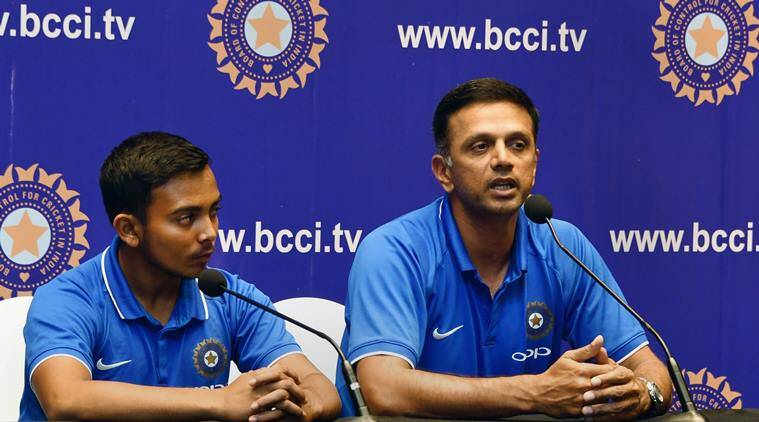 Helping U-19 winners make senior transition main priority: Rahul Dravid