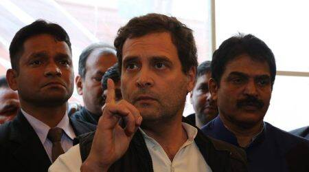 Rahul Gandhi, Rahul Gandhi on Bihar, Rahul Gandhi on Muzaffarpur jhit-and-run, Nitish Kumar, alcohol ban in Bihar, Bihar hit-an-run case, Indian Express news
