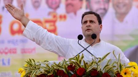 Rahul Gandhi in Karnataka: PM Narendra Modi speaks against corruption, but shares stage with jailed leaders