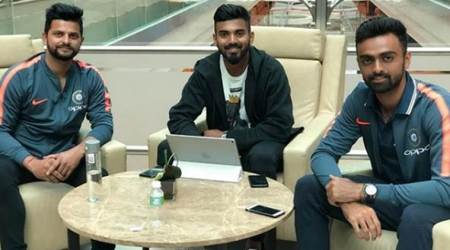 Suresh Raina leaves for South Africa, Mohammad Amir wishes him luck