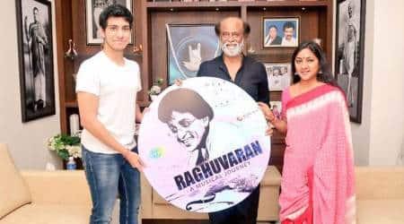 Rajinikanth launches late actor Raghuvaran music album