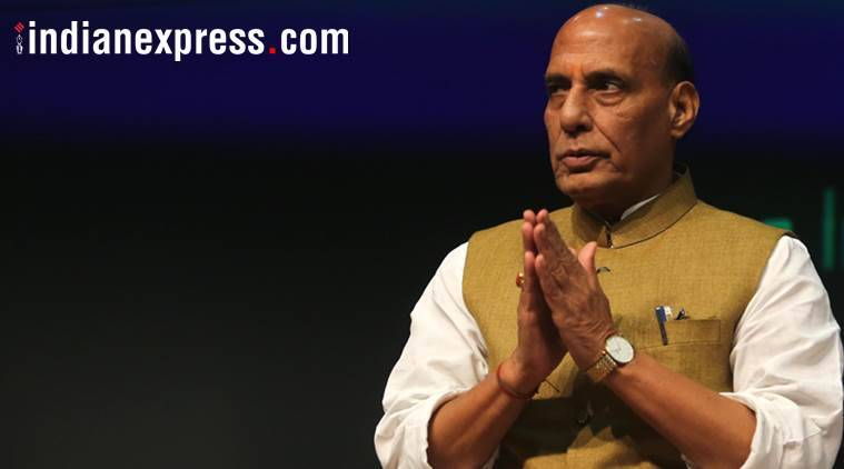 Rajnath Singh lambasts Pakistan on Kashmir row