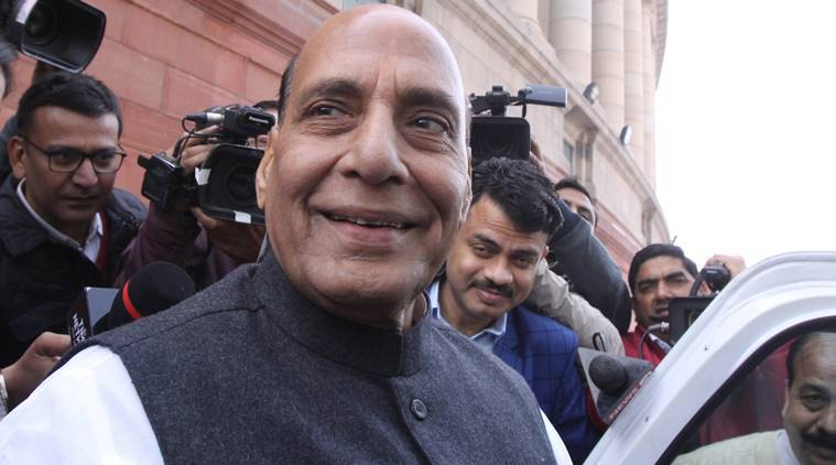 Rajnath stages roadshow amid clamour for change in Tripura