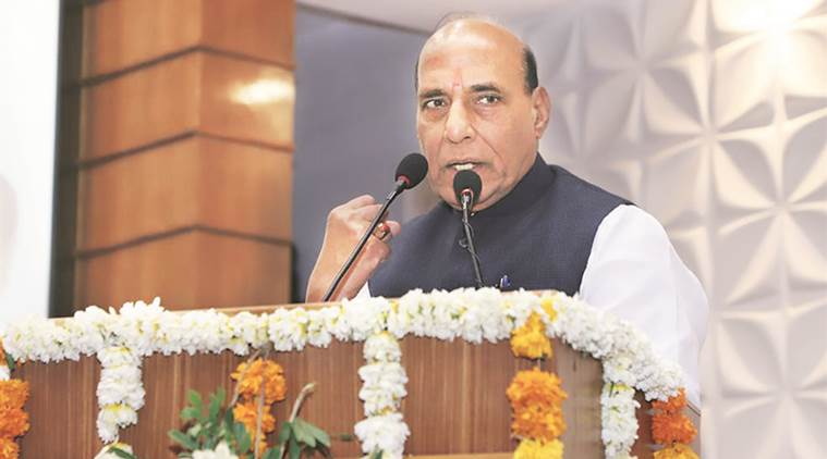 Rajnath Singh attacked the Congress-led government on a range of issues, including health care and law and order. (File)