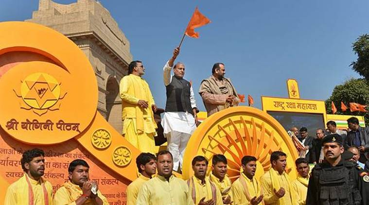 India wants to be powerful for welfare of all, not to intimidate others: Rajnath Singh