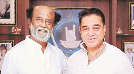 Days before party launch of political party, Kamal Hasan meets RajiniKanth