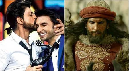 Shah Rukh Khan to Padmaavat star Ranveer Singh: You're now Khilji for me