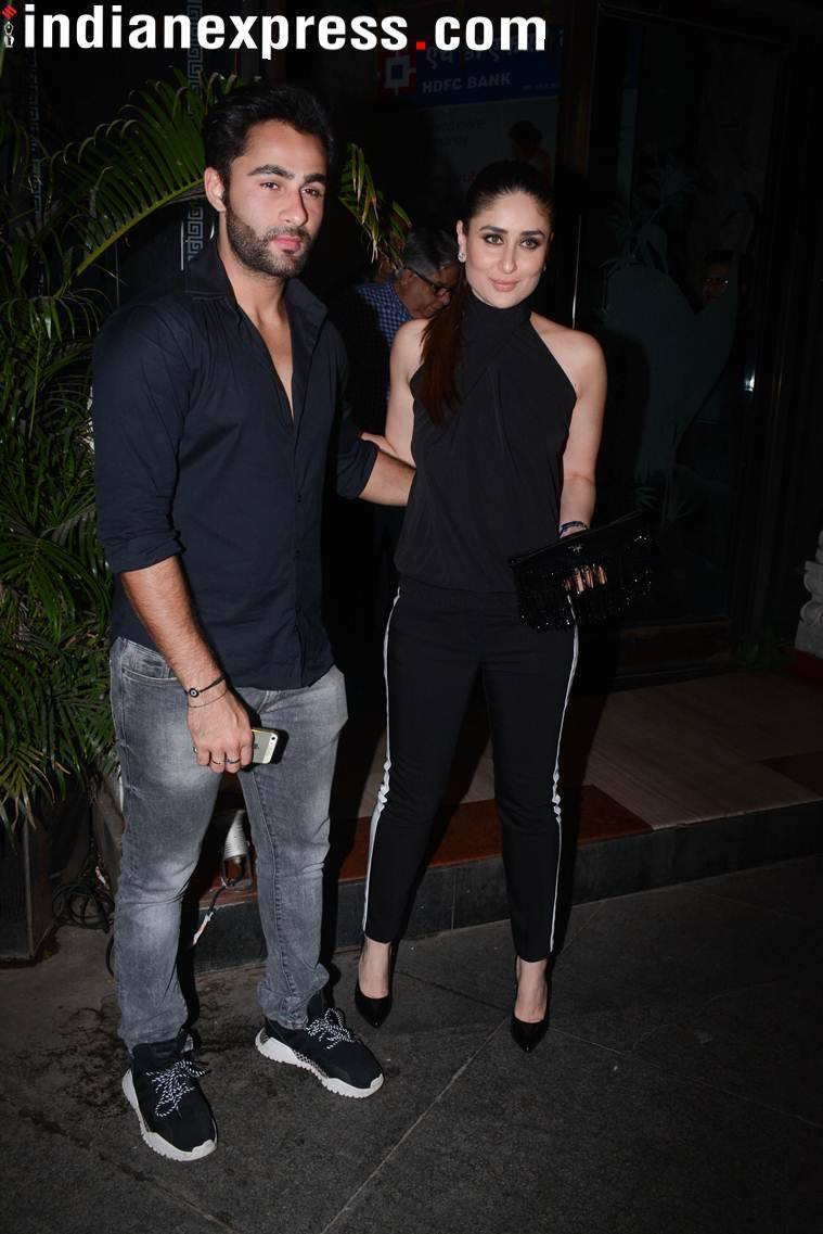 Kareena Kapoor Khan with cousin Armaan Jain.
