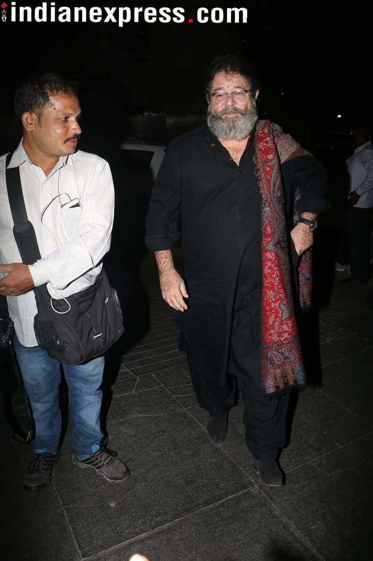 Late Shashi Kapoor's son Kunal Kapoor at Randhir Kapoor's birthday bash.