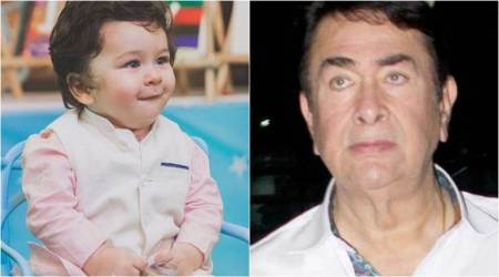 I see Taimur Ali Khan's picture in newspaper every day: Randhir Kapoor