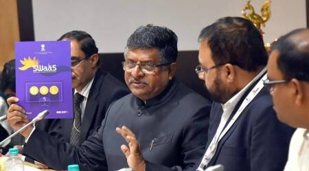 Ravi Shankar Prasad, aadhaar, Aadhaar card at ration shops, Aadhaar for ration, ration, fingerprinting, India news, Indian Express news