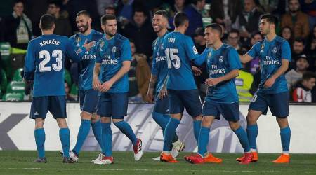 Real Madrid stage comeback to win eight-goal thriller at Real Betis
