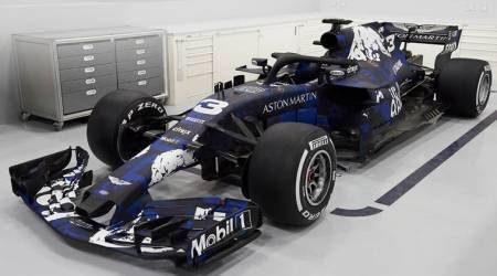 Red Bull launch new F1 car with temporarylivery