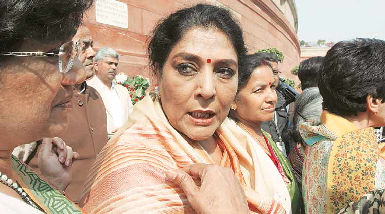 Pavlovian reflex of MPs to PM remark shatters myth that govt is working for women, says Renuka