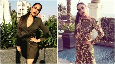 Richa Chadha in a tuxedo dress or an embellished gown: Both fierce, but which one's your pick?