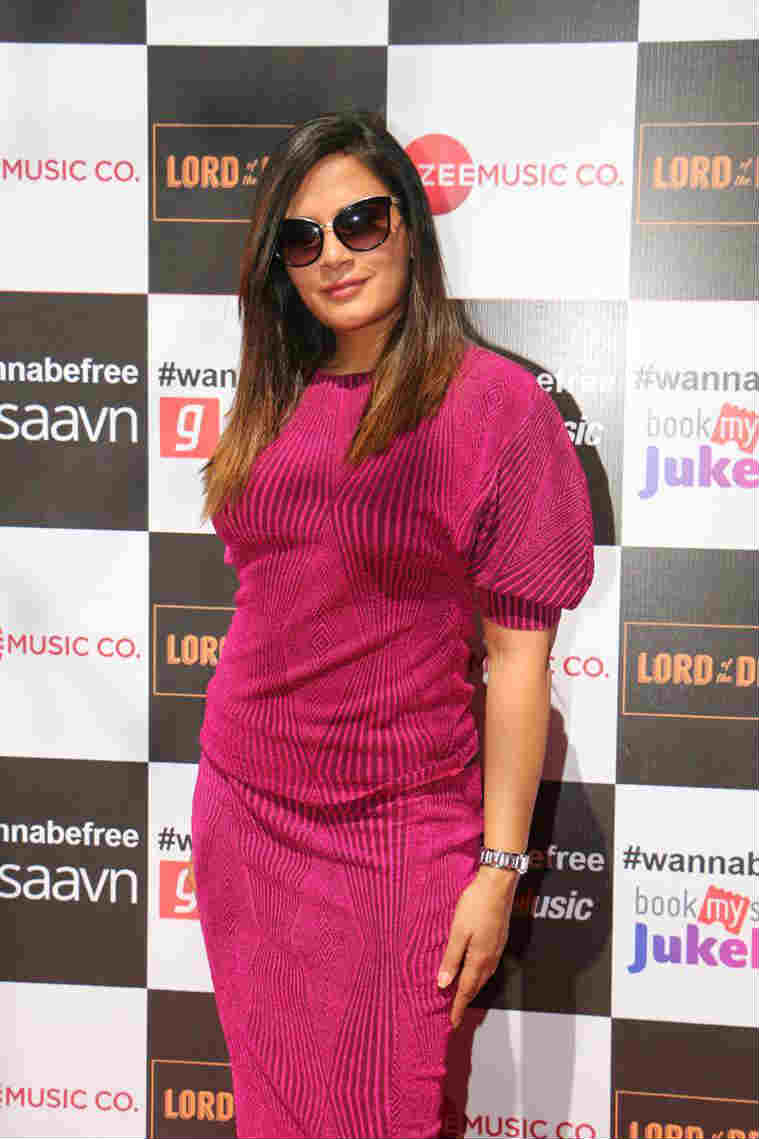 Richa Chadha during the launch of Wannabe Free