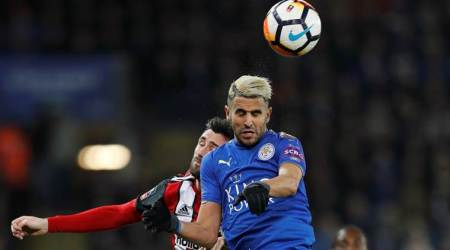 Reintegrated Riyad Mahrez helps Leicester City into FA Cup quarters
