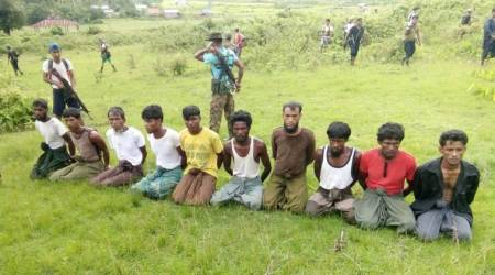 Myanmar forces and Buddhist villagers torched Rohingya homes, then killed: Report