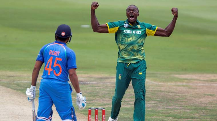 Rohit Sharma Meets His Nemesis In South Africa Kagiso