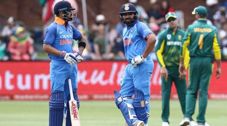 Rohit Sharma, Virat Kohli, R. Sharma, india vs south africa, ind vs sa, sachin tendulkar, sourav ganguly, south africa national cricket team, One Day International, indian express