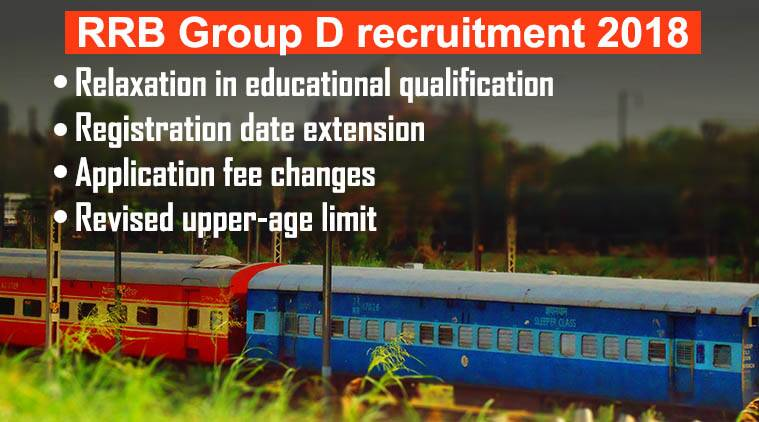 Railway Recruitment Board Group-D : 62907 Vacancies check details