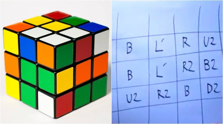 rubik's cube, how to solve rubik's cube, ways to solve a rubik's cube, easy ways to solve rubik's cube, indian express, indian express news