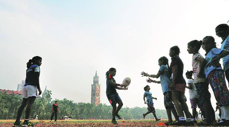 Rugby — a lure for children from south Mumbai slums to join school
