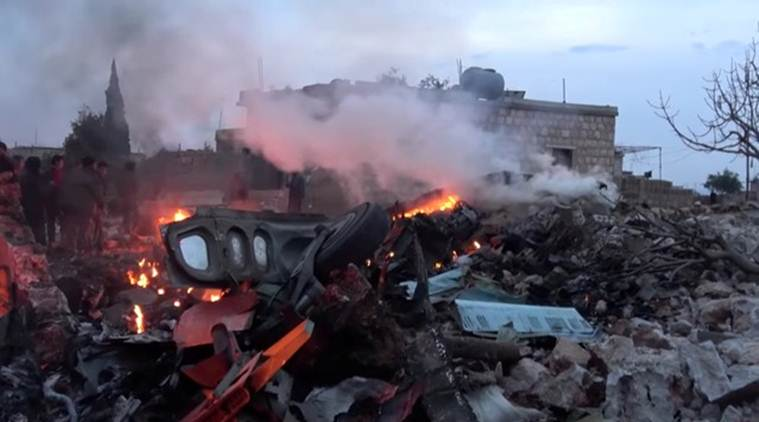 sukhoi 25 downed by syrian rebels