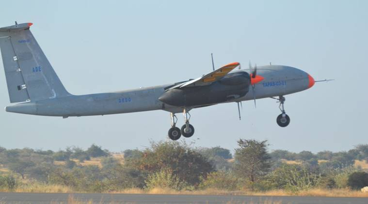 DRDO Carries Successful Aeronautical Test Of Rustom 2 Drone