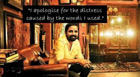 I am sorry I used the word 'shame': Sabyasachi apologises for sari comment in openletter