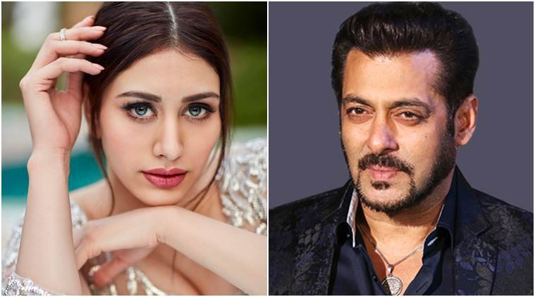 Salman Khan Introduces Cadbury Girl Warina Hussain Opposite Aayush Sharma in Loveratri