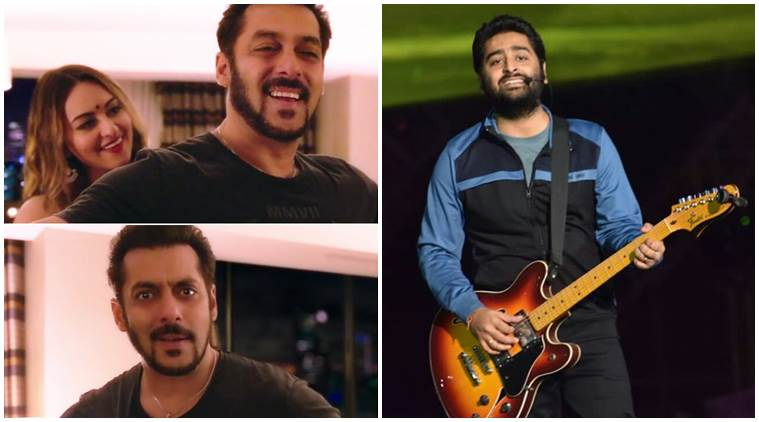 salman khan Arijit Singh Welcome to New York song