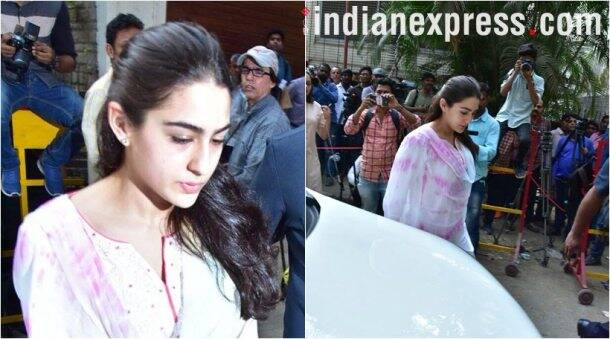 Sara Ali Khan, daughter of Saif Ali Khan