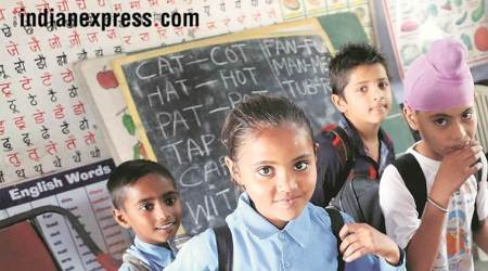 madhya pradesh, mp school, hapiness activity in school, education, indian express