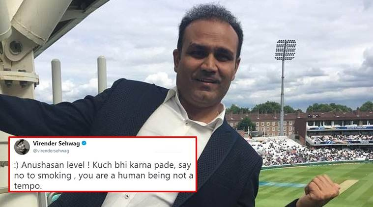 virender sehwag, sehwag twitter, sehwag tweets, virender sehwag tweets, virender sehwag tweet, sehwag twitter, sehwag funny tweets, sehwag funny tweet, indian express, indian express news