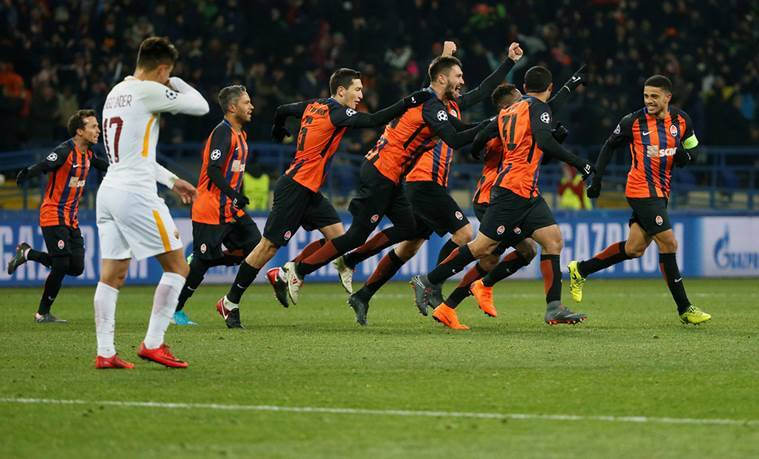 Fantastic Fred Gives Shakhtar Edge Over Roma