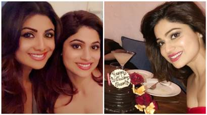shamita shilpa shetty birthday party pics
