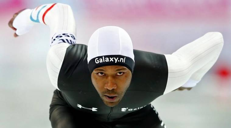 Shani Davis was noticeably absent from the opening ceremony of the Pyeongchang Olympics