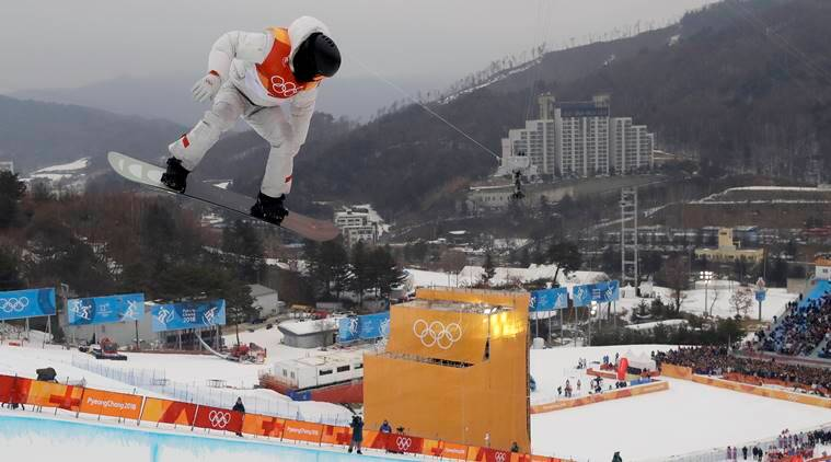 shaun white wins gold medal