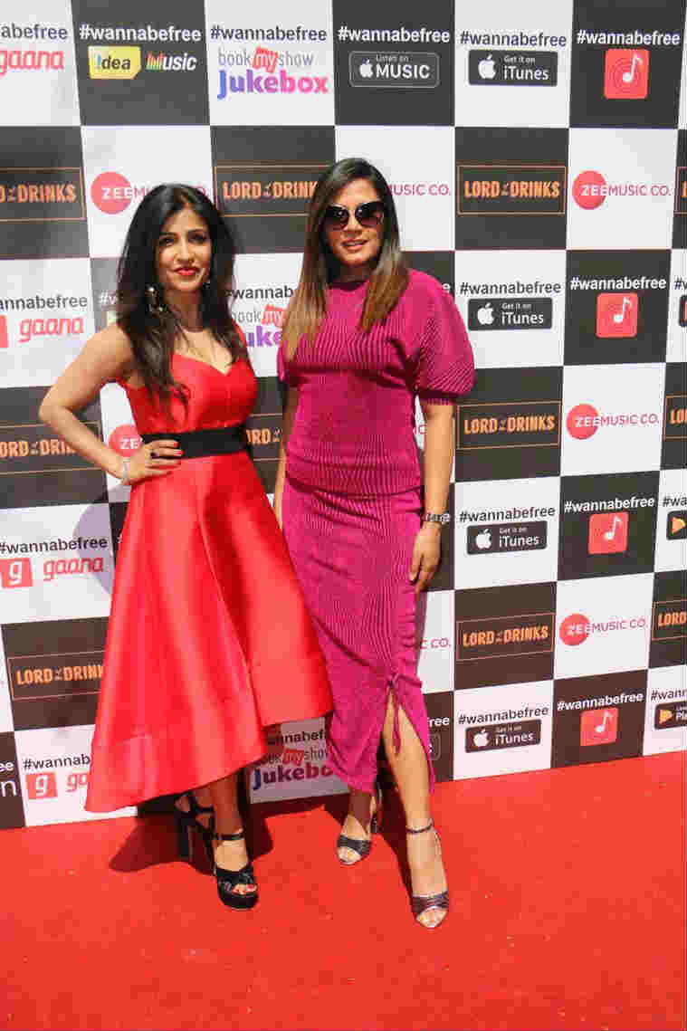 Shibani Kashyap and Richa Chadha launch of Wannabe Free