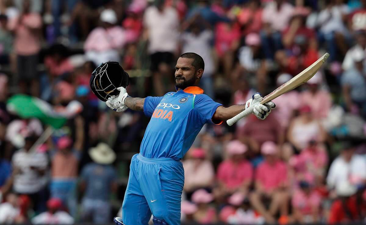 Shikhar Dhawan century in 100th ODI: One for the record books | Sports News,The Indian Express