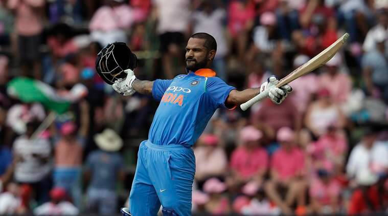 Shikhar Dhawan (785) has scored most runs for India in ODIs in 2018 (photo - getty)