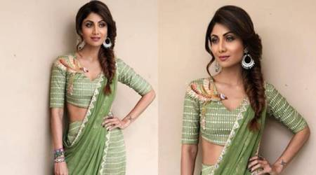 Shilpa Shetty Kundra's boho-inspired sari look goes terribly wrong
