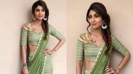 Shilpa Shetty Kundra's boho-inspired sari look goes terriblywrong