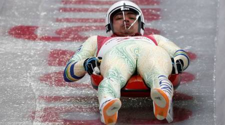 Luger Shiva Keshavan placed 34th after two rounds