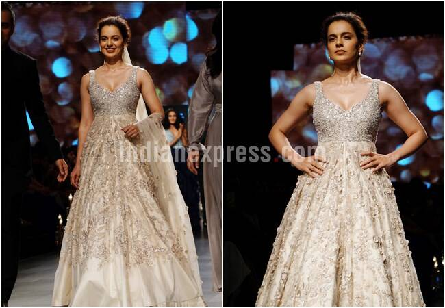 lakme fashion week, lakme fashion week 2018, lakme fashion week photos, lakme fashion week day 5, lfw day 5, LFK 2018, LFW 2018 photos, LFW 2018 latest photos, LFW day 5 showstopper,s LFW swara Bhasker, LFW Shilpa Shetty Kundra, LFW Kangana Ranaut, Indian Express, Indian Express News